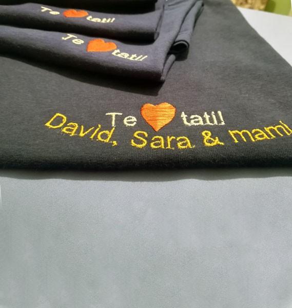 Tricou 4 cu broderie personalizata