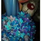 Lumanare botez flori