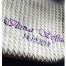 Paturica personalizata tricotata.