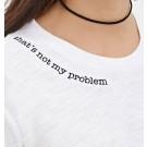 Tricou 2 cu broderie personalizata